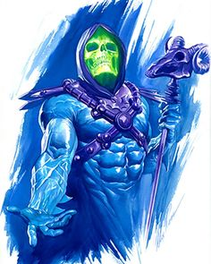 Alex Ross. Masters of the Universe. Skeletor.