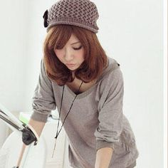 Buy 'PUFII – V-Neck Hooded T-Shirt Dress' with Free International Shipping at YesStyle.com. Browse and shop for thousands of Asian fashion items from Taiwan and more!