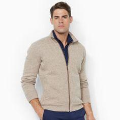 Full-Zip Mockneck - Polo Golf Sweatshirts - RalphLauren.com
