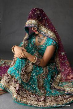 For my darling sister's wedding! Desi Wedding, Punjabi Wedding, Sister Wedding, Wedding Ideas, Pakistani Bridal Wear, Bridal Lehenga, Bridal Mehndi, Blue Fashion, Indian Fashion