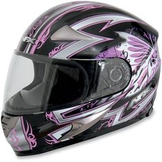 Amazon.com: AFX FX-90 Passion Helmet , Size: Md, Primary Color: Pink, Helmet Type: Full-face Helmets, Helmet Category: Street, Distinct Name: Pink Passion, Gender: Womens 0101-5178: Automotive