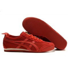 Asics Onitsuka Tiger Mexico 66 Shoes Red Buff Red