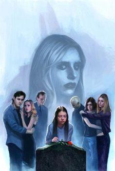 Spike Buffy, Buffy The Vampire Slayer, Buffy Summers, Michelle Trachtenberg, Joss Whedon, Angel Art, The Vamps, Dark Horse, Series Movies