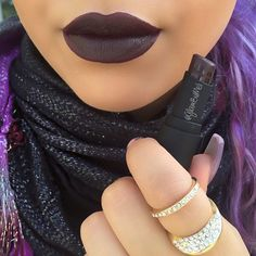 """The perfect fall vamp lip for my beauty's on a budget @wetnwildbeauty lipstick in the color (Coffee Buzz). It's from there new fall collection """"Here's to the wild ones"""". I purchase mine for $2.19 but @walgreens (Orlando,Fl) has a sale buy one get one %50. I didn't use any lipliner since I wanted to show you loves the true color. Am in ... They have 6 new limited edition shades. #wetnwildbeauty #lipstick #bblogger #swatch #vamplip #beautyonabudget"""