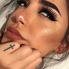 Hottest Eye Makeup Looks Makeup On Fleek, Kiss Makeup, Cute Makeup, Pretty Makeup, Makeup Art, Hair Makeup, Makeup Goals, Makeup Inspo, Makeup Inspiration