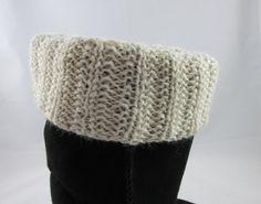 Alpaca Boot Cuffs by KingstonAlpacaKnits on Etsy #HandCraftedBootCuffs #Alpaca #alexpals
