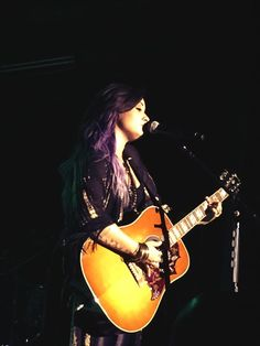 Demi Lovato performing at Poptart's Crazy Good Summer