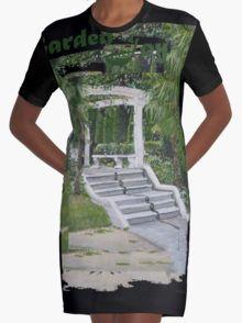 Italiaanse tuin Graphic T-Shirt Dress