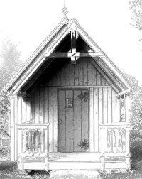 Better Barns Hardware and Plans - English Potting Shed 10 x 12 Plan