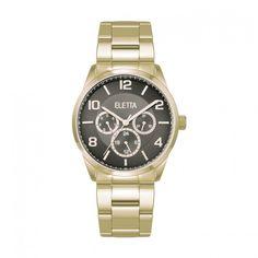 74181d2b8cd Relógio Eletta Westcoast Gold Black - ELA270MPMG