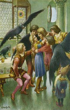 oskar herrfurth die sieben raben the seven ravens brder grimm - Gebruder Grimm Lebenslauf