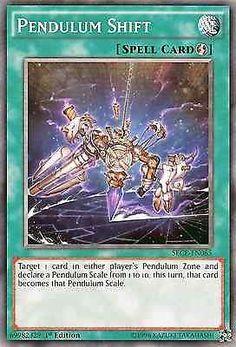 Original Konami YuGiOh Trading Card aus Secrets of Eternity. SECE-EN065 Pendulum Shift (Pendelverschiebung) Seltenheit: Common - 1st Edition GBA-Code: 69982329   Jetzt günstig bei eBay kaufen!