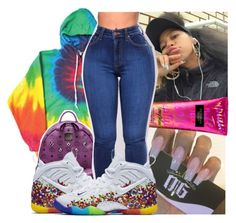 """"""""""" by theyknowniyaaa ❤ liked on Polyvore featuring Victoria's Secret and MCM"""