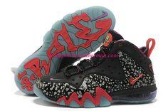 uk availability df2ea 338ad Nike Barkley Posite Max Area 72 Glow In The Dark Black Siren Red 588527 060  Basket
