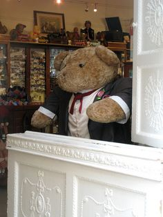 Doll Store in Dublin's Powerscourt. Big Mr.Ted | Flickr - Photo Sharing!