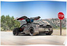 The Pagani Huayra - Super Car Center Maserati, Bugatti, Ferrari, Pagani Huayra, Fast Sports Cars, Super Sport Cars, Supercars, Dream Cars, Mustang