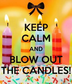Blow out candles
