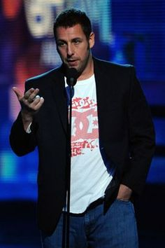 I THINK ADAM SANDLER IS HOT.. IS THAT WEIRD ? LOL