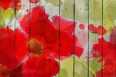 Beautiful in Red by Irena Orlov Painting Print on Wrapped Canvas