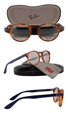 2bcbc3b45952 $99.99 - Ray Ban RX5283 Eyeglasses 51-21-145 Yellow Tortoise 5609 RX 5283