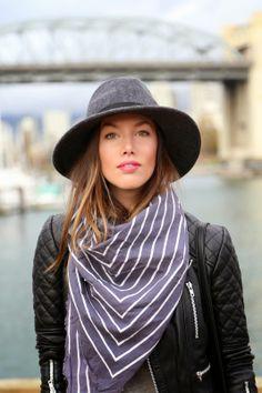 scarf + hat