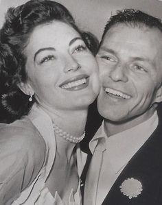 """Man, if I could only get her out of my plasma!""- Frank Sinatra on Ava Gardner"