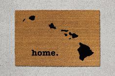 Hawaii Home Door Mat - $39
