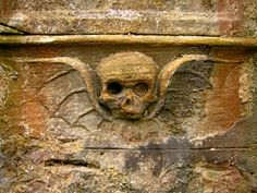 Image Detail for - Pencaitland: The winged skull:: OS grid NT4469 :: Geograph Britain and ...