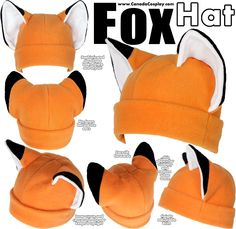 I know I shouldn't...but I really want this hat! XD Fox Hat by calgarycosplay.deviantart.com
