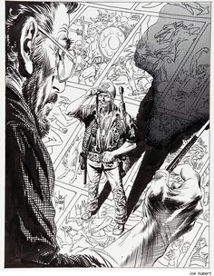 Rest in Peace, Joe Kubert.