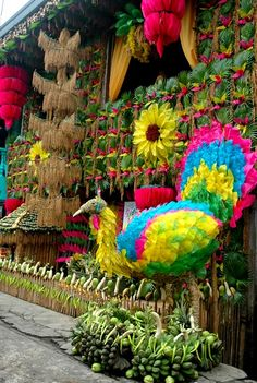 pahiyas festival in quezon, philippines
