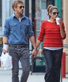 Ryan Gosling y Eva Mendes viven un difícil momento. Supuesta infidelidad de ella amenaza la relación
