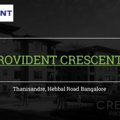 Provident crescent bangalore | Visual.ly