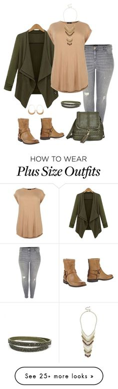 """Just a little more time- plus size"" by gchamama on Polyvore featuring River Island, Frye, Natasha and plus size clothing"