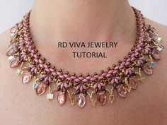 Tutorial Wisconsin Necklace by RDVIVAJEWELRY on Etsy