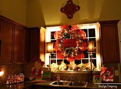 Christmas Kitchen Wreath