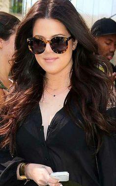 Khloe Kardashian - Hair and Amazing Sunglasses
