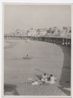 Sidi Bishr No Alexandria, Egypt - panorama view, 1943 Old Egypt, Egypt Art, Memphis City, Alexandria Egypt, Cairo, Love Art, Dolores Park, Places To Visit, History
