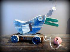 Edmond le canard à roulette
