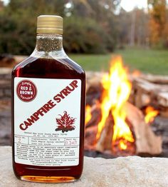 Smoked over a special blend of nut woods, this organic maple syrup is meant for more than just pancakes.