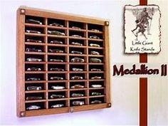 21 Various DIY Display Case Ideas to Keep your Beloved Stuff! - Home Decor Ideas Knife Display Case, Display Cases, Display Ideas, Action Figure Display Case, Diy Knife, Knife Storage, Diy Shadow Box, Case Knives, Best Pocket Knife