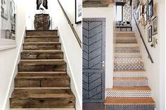 Betonnen trap betonlook op hout betonverf trap interieur hal