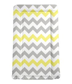 chevron padded baby changing mat