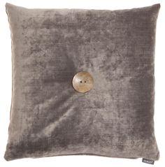 Editta - grey - wooden button