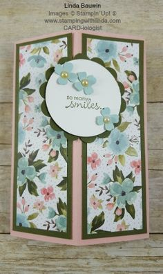 Front Tower Card  Countdown to my Million Dollar in Personal Sales continues with exclusive specials from me.  Check out these deals at www.stampingwithlinda.com Linda Bauwin – CARD-iologist  Helping you create cards from the heart.
