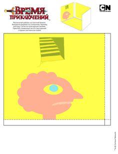 Prismo 1 by iloveyouhorzzza on DeviantArt Adventure Time Crafts, Adventure Time Parties, Adventure Time Anime, 3d Paper Crafts, Paper Toys, Diy Paper, Origami, Spongebob Crafts, Avenger Time