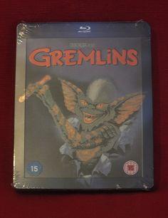 Gremlins UK and Ireland Bluray steelbook