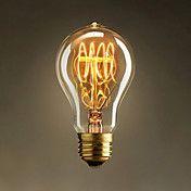 40W retro industri stil lyspære Edison versjon