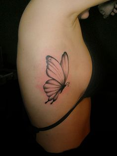 Beautiful and simple.    #tattoo #ink #tattoo design #butterfly #nature #wings