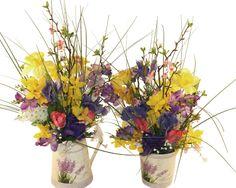 """""""Lavender"""" si lalele 1 si 2 - Aranjament cu flori artificiale"""